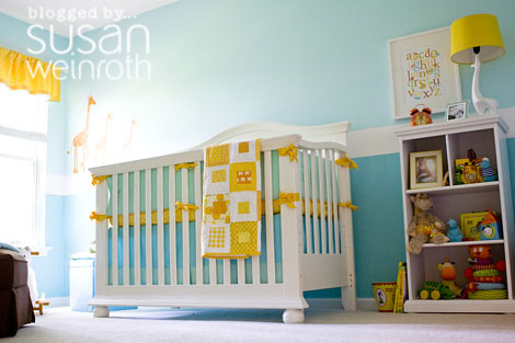 Susan's nursery for Noah