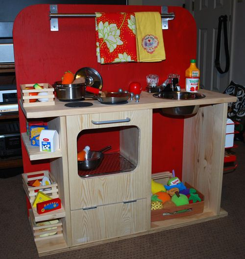 Wooden Play Kitchen Diy Plans Diy Free Download Wooden Bridge